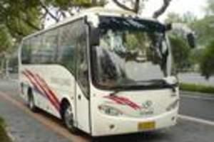 33座苏州金龙旅游车夏季用车