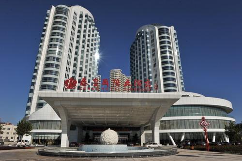 【秦皇岛秦皇国际大酒店】面向大海的秦皇岛五星级酒店