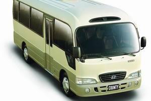 韩国现代小巴旅游车22座