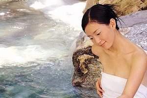北京私密温泉/带独立温泉泡池的私密温泉/润清园温