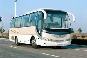 33座金龙空调旅游车 (带司机)