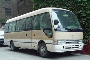 洛阳旅游租车 22座丰田考斯特800元/天 市内.