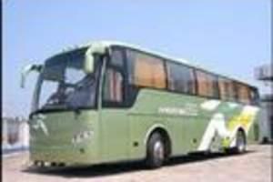 旅游大巴包车49座1800元市内一天