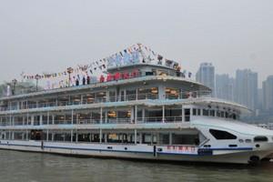 重庆夜景两江游船票价格【朝天门号】哪里买票,上船