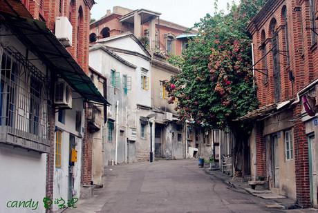 欧式街道怀旧背景