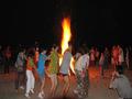 海陵岛沙滩篝火晚会+沙滩唱歌--感受海滨渔民风情