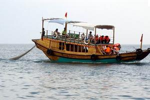 出海捕鱼、观光、垂钓