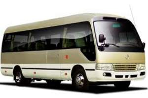 呼和浩特市旅游中巴租车_19座国产考斯特旅游租车
