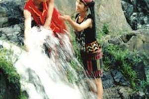 五指山太平山瀑布