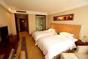 泰安万朝洲际酒店泰山刘老根标间大床含餐住宿