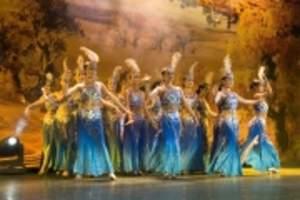 乌鲁木齐国际大巴扎民族歌舞晚宴