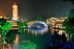 桂林夜游两江四湖