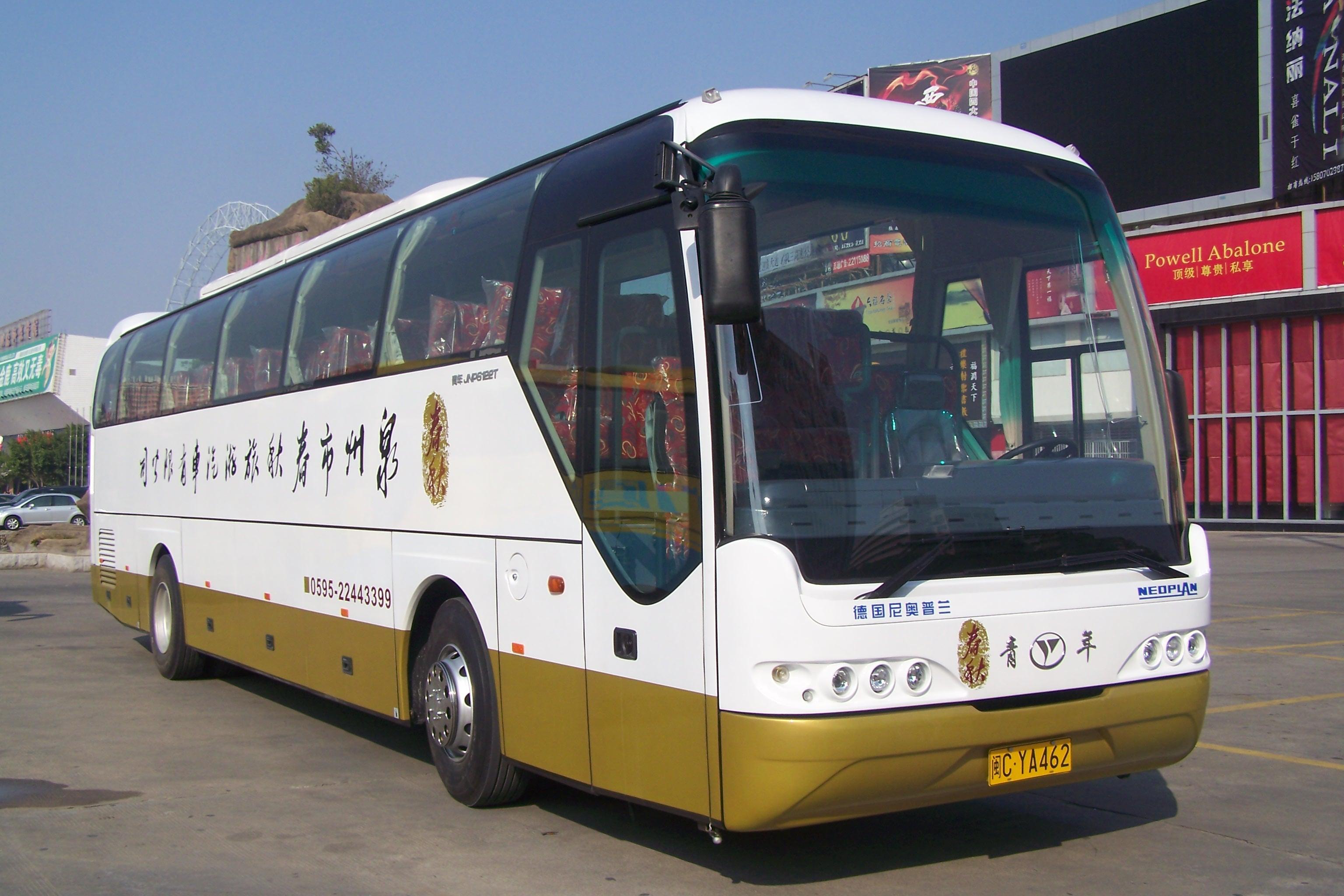 55座旅游大巴车/泉州旅游包车/泉州租车