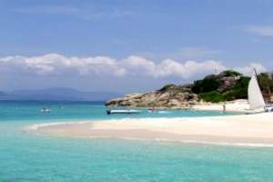 三亚分界洲岛住四星温泉酒店超值五日游,蜈支洲岛高端品质休闲游