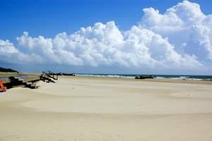 沈阳到白沙湾黄金海岸、五星级御景山温泉、海鲜自助二日游