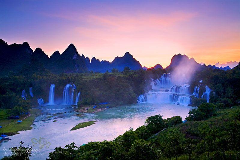 南宁周边游:【悠游】德天瀑布、通灵大峡谷(明仕田园)2日游