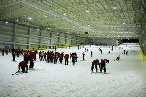 湖南首个室内滑雪场,赤马湖室内滑雪馆,浏阳赤马湖滑雪一日游