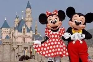 广州去香港迪士尼旅游团,香港黄大仙、浅水湾、迪士尼乐园两天游