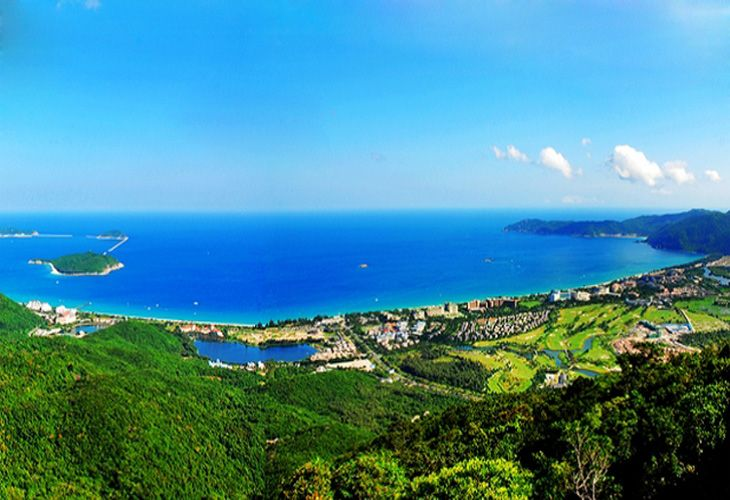 海南三亚风景纸