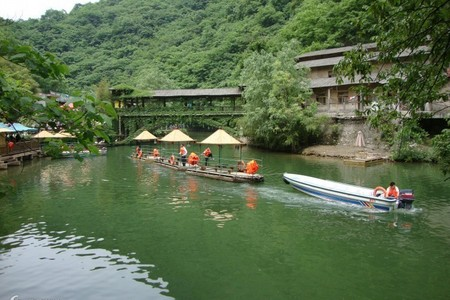 西安到金丝峡旅游景点大全_棣花古镇、金丝峡、丹江漂流二日游