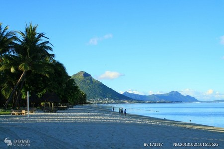 毛里求斯海岛天堂-洲际5晚7天自由行 上海直飞 新春预售