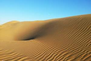 青岛至内蒙古呼和浩特、希拉穆仁草原、响沙湾卧去飞回五日