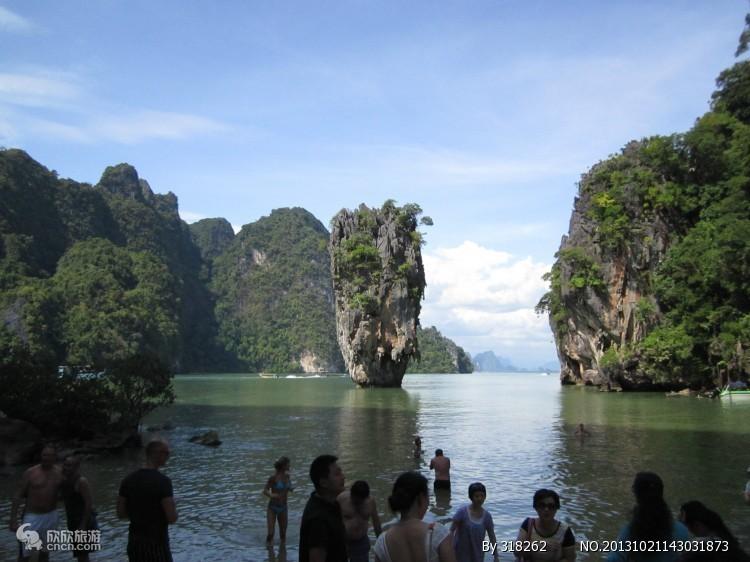 泰国007岛_武夷山风景图片