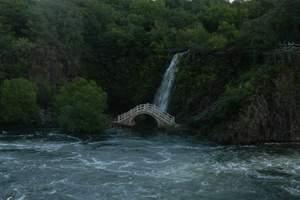 哈尔滨出发到牡丹江镜泊湖二日游-牡丹江镜泊湖、吊水楼瀑布跟团