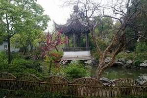 杭州出发苏州一日游(车费+门票+导游+保险)苏州园林一日游