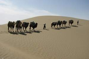 乌鲁木齐到吐鲁番_库木塔格沙漠动车一日游<天天发团>