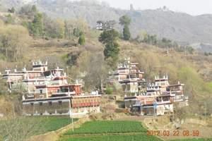 成都周边哪里可以看花 成都到金川看梨花 甲居藏寨摄影越野4天