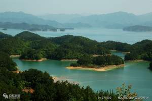 宁波出发到杭州、千岛湖二日游 全市特惠价 本周优惠千岛湖