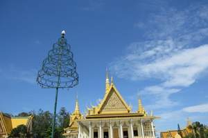 青岛去柬埔寨越南七日 大小吴哥,塔普伦庙 巴肯山,湄公河tj