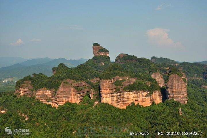 丹霞山图片
