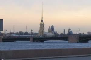 石家庄出发从北京到俄罗斯莫斯科、圣彼得堡4飞8日游
