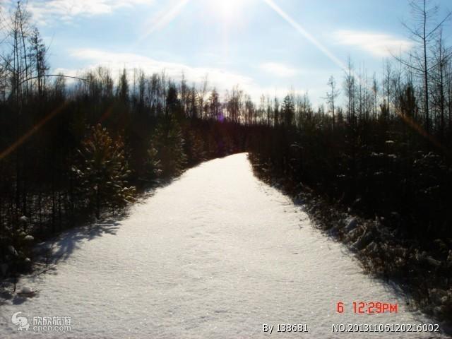 漠河北极村图片