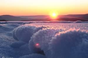 泉州晋江厦门到哈尔滨亚布力滑雪雪乡长白山雾凇双飞七日游 G