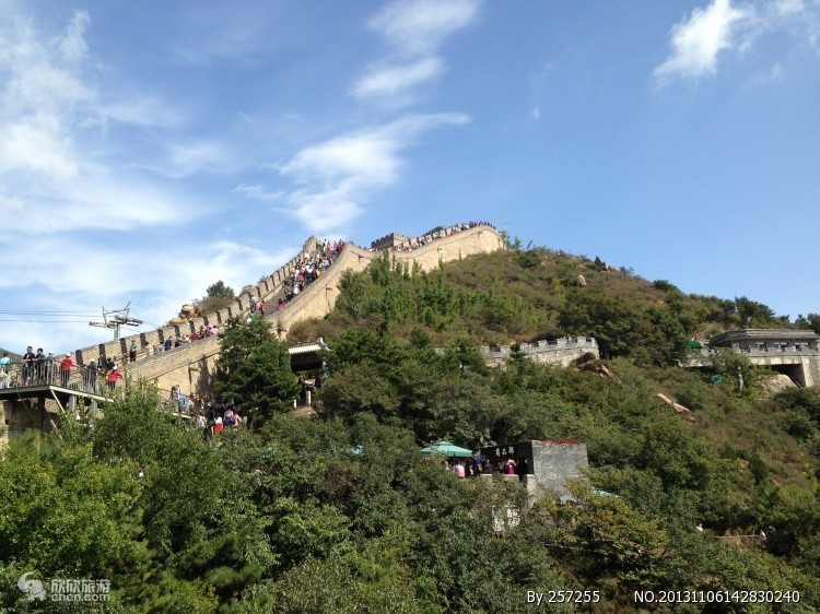 北京二日轻松游 升旗、 故宫、颐和园、鸟巢、水立方、长城