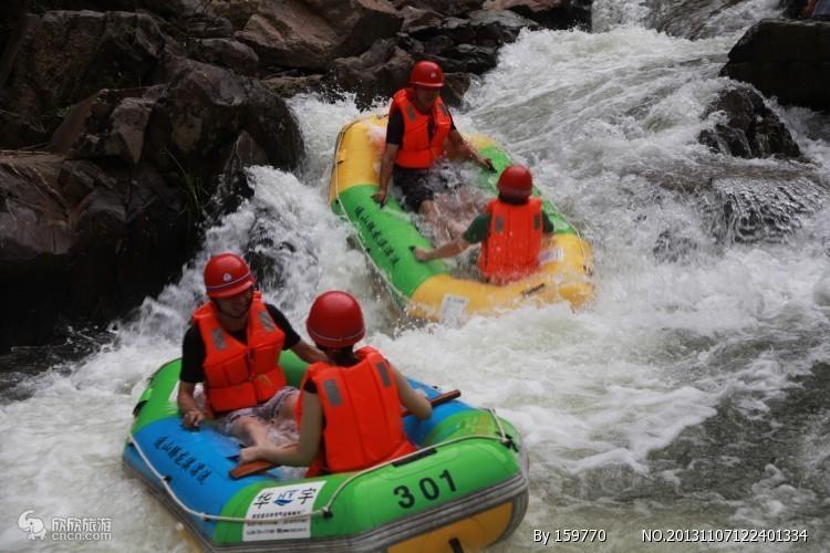 宝天曼峡谷漂流一日游【南阳出发,安全刺激】