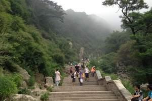 淄博出发到泰山观日出+封禅大典大型山水实景演出两日游