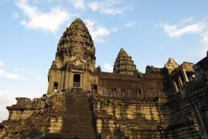 青岛到柬埔寨旅游|柬埔寨吴哥窟/巴戎庙/十二生肖像双飞六日游
