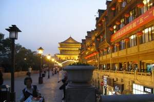 南昌到西安旅游 南昌到华山旅游 南昌到西安华山单飞五日游
