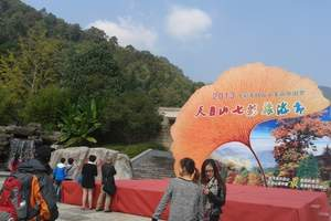 杭州到临安西天目山<大树王国+禅源寺>一日游,观万年古村