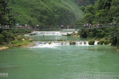 桂林到贵州旅游黄果树大瀑布、喀斯特小七孔、西江千户苗寨5日游