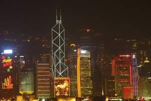 武汉到香港澳门旅游 香港澳门海洋公园+迪士尼5日游纯玩J