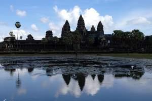 北京到柬埔寨旅游、巴戎庙、吴哥、金边超值六日游