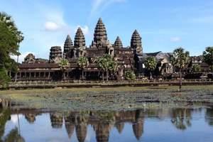 穿越吴哥-洛阳到柬埔寨双飞五晚六日游 游吴哥窟 全程四星酒店