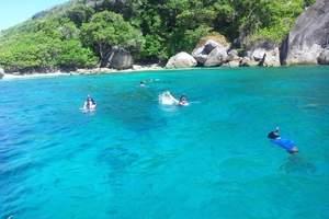 ★【泰国甲米普吉岛+斯米兰群岛六天】升级国际五星联排泳池别墅