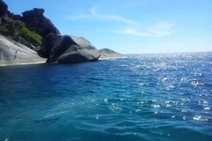 武汉出发到斯米兰旅游 斯米兰群岛加普吉岛双飞七日奢华游