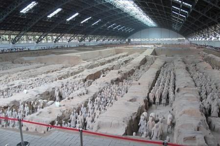 西安旅游兵马俑、华清池、华山、法门寺、城墙三晚四日精品游